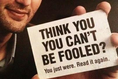 fooled thumb